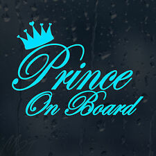 Prince On Board Car Decal Vinyl Sticker For Bumper Panel Window