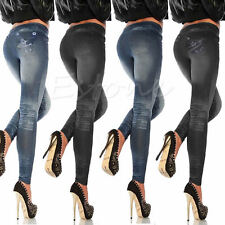 Vogue Stretchy Slim Leggings Sexy Women Jean Skinny Jeggings Skinny Pants