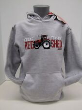 "Case IH ""If It Ain't Red It Stays In The Shed"" Gray Youth Hoodie - Size: S or XL"