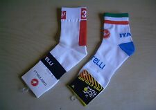 Cycling Socks Bike Racing Riding Tri MTB Pro Team Castelli & Italia Bike Socks