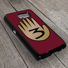 3 Hand Book From Gravity Falls Back Cover Case For Samsung Galaxy Smart Phone