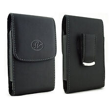 For Nokia Cell Phones Vertical Leather Belt Clip Case Pouch Cover Holster NEW!