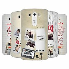 CUSTOM PERSONALIZED ONE DIRECTION 1D CRAZY OVER YOU GEL CASE FOR LG PHONES 1
