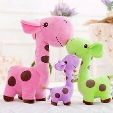 Sweet Plush Giraffe Toy Animal Dear Doll Baby Kids Children Birthday Xmas Gift