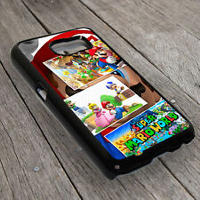Super Mario World Back Cover Case For Samsung Galaxy Smart Phone