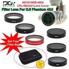 PGY HD Camera ND4 ND8 Filter/CPL Polarizer/MC UV Filter Lens For DJI Phantom 4/3