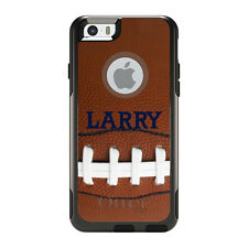 Monogram OtterBox Commuter for iPhone 5S 6 6S Plus Football Photo Laces Name