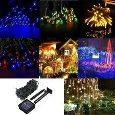 12m 100*LED Light String Christmas Festival Decorations Garden Fairy Lights TT1D