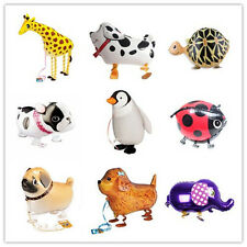 Funny Kids Foil Pet Animals Walking Balloon Helium Fun Toy Party Birthday Decors