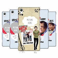 CUSTOM PERSONALISED ONE DIRECTION 1D I SHIP US HARD CASE FOR SONY PHONES 2