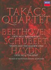 TAKÁCS QUARTET - DEATH AND THE MAIDEN [USED DVD]
