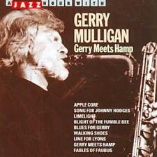 GERRY MULLIGAN - GERRY MEETS HAMP [JAZZ HOUR] USED - VERY GOOD CD