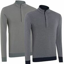 **60%OFF** Ashworth 2016 Double Layer Thermal Sweater Mens Golf Pullover- Lined