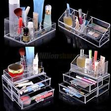 New Holder Makeup Stand Drawers Cosmetic Organizer Lipstick Storage Acrylic Box
