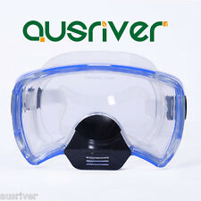 Anti-Fog Adult Snorkel Mask Dive Goggles Snorkel Set Scuba Mask