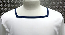 Genuine British Royal Navy Class 2 Sailor Square Neck Shirt White Mans or Womans