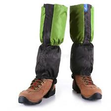 Trekking Hiking Walking Winter Snow Gators Fleece Thermal Boot Leggings Gaiters