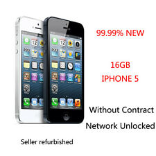 16GB Apple iPhone 5 Unlocked Wcdma GSM Without Contract Smartphone Black & White