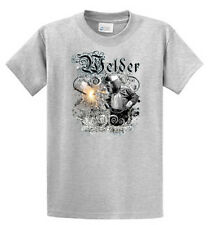 Welder Graphic Printed Tee Shirts Mens Regular and Big and Tall Sizes Port & Co.