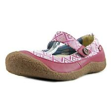 Keen Harvest MJ Button   Round Toe Leather  Mary Janes