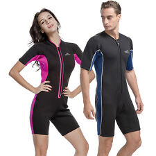 2mm Diving suit Sunscreen Clothes Swimming Surfing Jumpsuit Short Sleeve Wetsuit