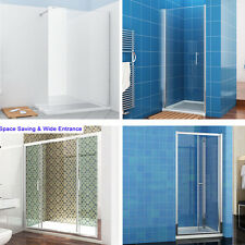 High Shower Doors,Bi Fold,Pivot,Sliding, Double Sliding Shower Doors And Tray