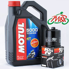 Raptor 650 2001 K&N Filter and Motul 5000 Oil Kit