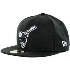 "New Era 59Fifty San Diego Padres ""Cooperstown Friar"" Fitted Hat (Black) Mens Cap"