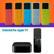 Silicone Protective Case Cover For Apple TV 4 Remote Control Dust Cover Holder