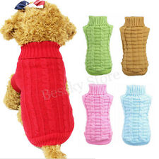 New Arrival Winter Autumn Pet Dogs Woolen Sweater Knitwear Vest Puppy Clothing
