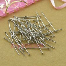Dull Silver Plated Head Pins Connectors 20mm,30mm,40mm,DIY Findings R0015