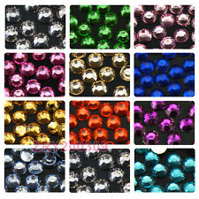 1000Pcs 3mm Acrylic Crystal  Rhinestones Flat Back 24colors-1 R0177