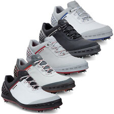 ECCO 2016 Cage Spikes Waterproof -Hydromax Leather Mens Golf Shoes