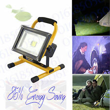 dimable Outdoor Portable Floodlight Rechargeable IP65 Waterproof Lamp 10/20W