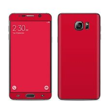 Red Skin Kit For Galaxy Note 1 2 3 4 5 Edge Vinyl Sticker Decal Cover
