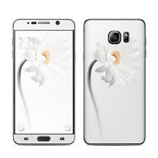 White Daisy Skin Kit For Galaxy Note 1 2 3 4 5 Edge Vinyl Sticker Decal Cover