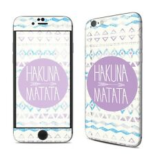 NEW Hakuna Matata Vinyl Decal Skin Kit Sticker Cover For iPhone Models