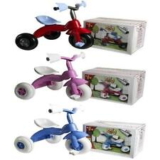 BRIO KIDS TRIKE BIKE CHILDRENS 3 WHEEL PEDAL SCOOTER TRICYCLE RIDE ON TOY GIFT