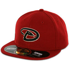 DIAMONDBACKS 2016 ALTERNATE 2 Home Brick New Era 59FIFTY Fitted Caps OnField Hat