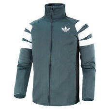 ADIDAS TREFOIL FC TT MEN MEN'S TRAINING SPORTS JACKET MIDNIGHT AB7508 FIREBIRD