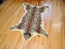 RUGS AREA RUGS CARPET FLOORING AREA RUG FLOOR DECOR LEOPARD PRINT RUG SALE NEW~