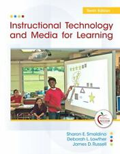 Instructional Technology and Media for Learning by Smaldino, 10th Edition