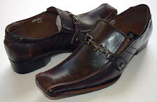 NICE ITALIAN STYLE MENS DRESS/CASUAL SHOES COLOR BROWN COLOR EXCELLENT QUALITY