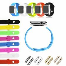 Bracelet for Apple Watch 1 1/2in 1 7/10in Sport Armband Strap Band Silicone NEW