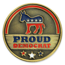 Proud Democrat Lapel Pin