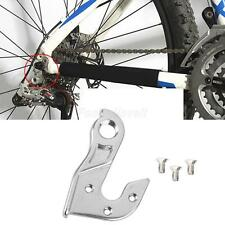 MTB Bike Aluminium Alloy Rear Gear Mech Derailleur Hanger Hook Drop out Adapter