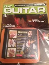 PLAY GUITAR MAGAZINE - Part 4 - Noel Gallagher/Jimi Hendrix With CD - Sealed NEW