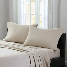 NEW WOOLRICH Cozy Warmth Flannel Twin/Full Sheet Set 100% Cotton Double brushed