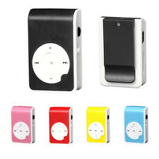 32GB Mini Clip Metal USB MP3 Music Media Player Support Micro SD TF Card Reader