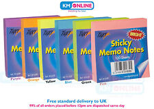 Sticky Memo Notes Pad Neon Memo Notes Highlighter Tabs Office Business School
